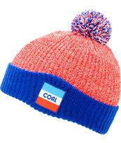 Coal Stanwood Red, White & Blue Pom Beanie