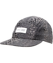 Akomplice Black Leopard 5 Panel Hat