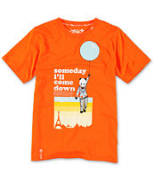 LRG Boys Cloud 47 Orange Tee Shirt