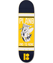 Plan B Bee Logo Mini 7.5 Skateboard Deck