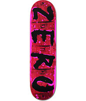 Zero Team Attak 8.12 Skateboard Deck