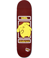 Girl x Sanrio Brian Anderson Hello Kitty 8.5 Skateboard Deck
