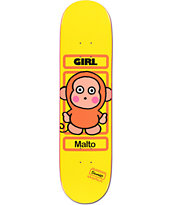Girl x Sanrio Sean Malto Hello Kitty 8.12 Skateboard Deck