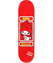 Girl x Sanrio Guy Mariano Hello Kitty 8.12 Skateboard Deck