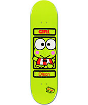 Girl x Sanrio Alex Olson Hello Kitty 8.38 Skateboard Deck