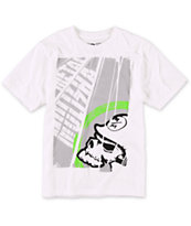 Metal Mulisha Boys Title White Tee Shirt