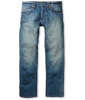 Crooks & Castles Tyrant Core Denim Blue Regular Fit Jeans