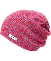 Neff Daily Heather Red & Blue Beanie