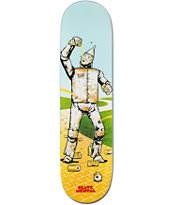 Skate Mental Rusty Tin Man Dan Plunkett 8.125 Skateboard Deck