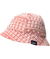 Chuck Originals Signs Brick Red Printed Bucket Hat