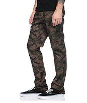 Empyre Skeletor Camo Print Skinny Chino Pants