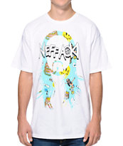 Neff X Aoki Frosting Icon White Tee Shirt