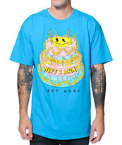 Neff x Aoki Goldie Cake Blue Tee Shirt