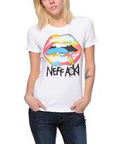 Neff x Aoki Tie Dye Women's Crew Neck Tee Shirt