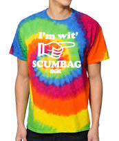 DGK Wit Scumbag Tie Dye Tee Shirt