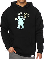 Primitive x Grizzly x Diamond Supply Co Bands Bear Hoodie