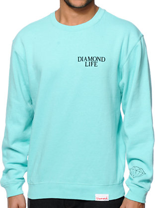 diamond-supply-co-diamond-life-mint-crew-neck-sweatshirt.html