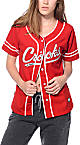 Crooks and Castles Crooks Scarlet Red Baseball Jersey