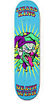 "Deathwish Lizard King Clowns 8.0"" Skateboard Deck"