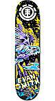 """Element Evan Neon Night 7.875"""" Skateboard Deck"""