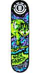 """Element Garcia Neon Night 8.0""""  Skateboard Deck"""