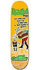 """Krooked Cromer Flying Burger 8.06"""" Skateboard Deck"""
