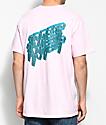 10 Deep 3D Pink T-Shirt