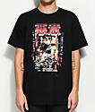 10 Deep Death Is Everywhere Black T-Shirt
