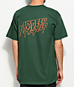 10 Deep Fade To Black Green T-Shirt
