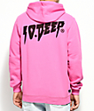 10 Deep Sound And Fury Pink Hoodie