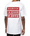 10 Deep Triple Stack 2 camiseta blanca