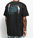 10 Deep Tropical Shock camiseta negra