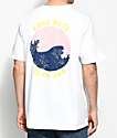 10 Deep Waves camiseta blanca