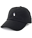 40s & Shorties Double Cup Black Dad Hat