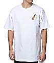 40s & Shorties Rose 40 White T-Shirt