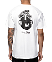 5Boro 5Ball White T-Shirt