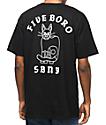5Boro Cat & Skull Black T-Shirt