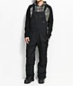 686 Hot Lap Black 15K Snowboard Bib Pants