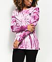 A-Lab Alien Pink Tie Dye Long Sleeve Shirt