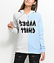 A-Lab Marlen Chill Vibes Split Blue Hoodie