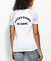 A-Lab Rhue Everything Cool White V-Neck T-Shirt