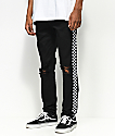 American Stitch White Taping Black Jeans