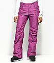 Aperture Crystal Stretch Wine 10K Snowboard Pants