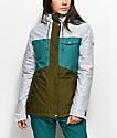 Aperture Heaven Teal & Olive 10K Snowboard Jacket