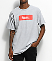 Artist Collective Fam. Box Logo Grey T-Shirt