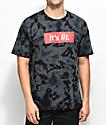Artist Collective Its Lit Black Tie Dye T-Shirt