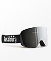 Ashbury Sonic Black Silver Snowboard Goggles