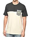 Asphalt Yacht Club Ringer Parchment Pocket T-Shirt