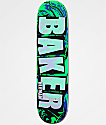 "Baker Herman Abstract 8.0"" Skateboard Deck"