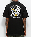 Beer Savage Bone Club Black T-Shirt